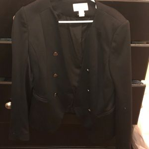 h and M blazer
